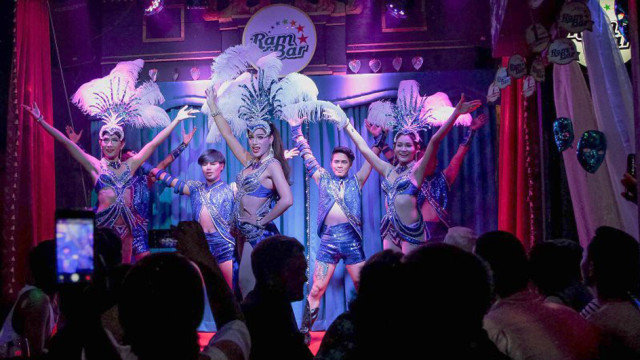 Extravagant Cabaret Show at Ram Bar